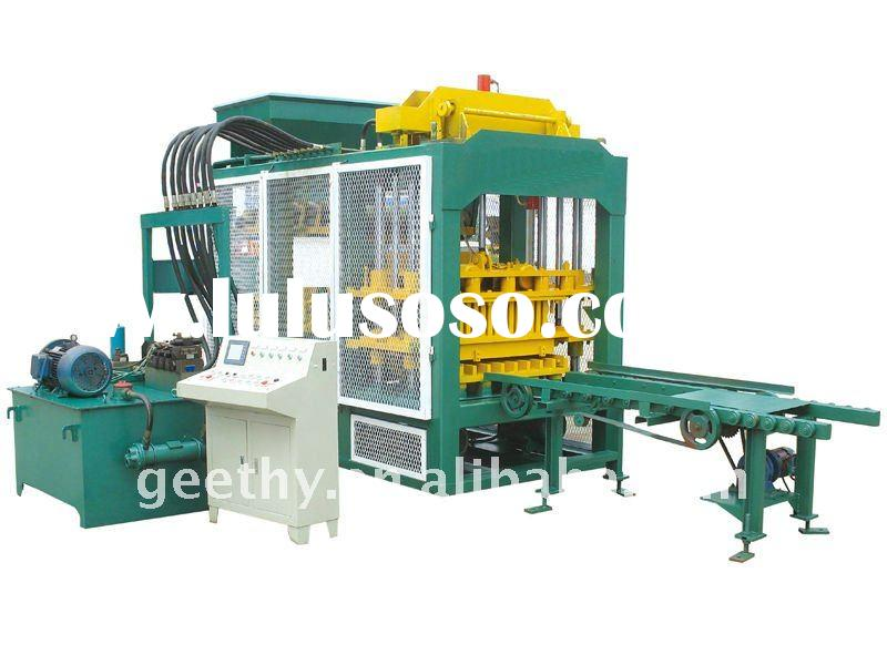 QT4-15B used concrete block making machine