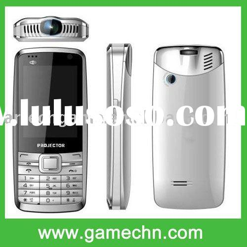 Quadband dual sim dual standby WIFI+JAVA+TV+Projector cell phone --- P780