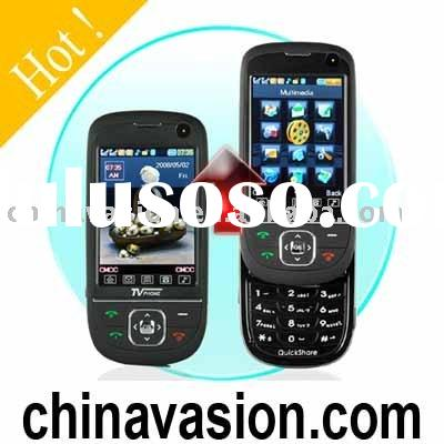 QuickSlide Quad Band Dual SIM Card Cell Phone + TV and Bluetooth