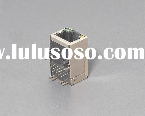 RJ45 connector with magnetics,rj45 connector with filter, THE LOWEST PRICE WILL OFFER TO YOU.,