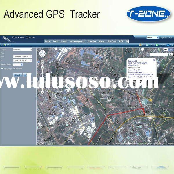 Real-time web-based gps tracking software