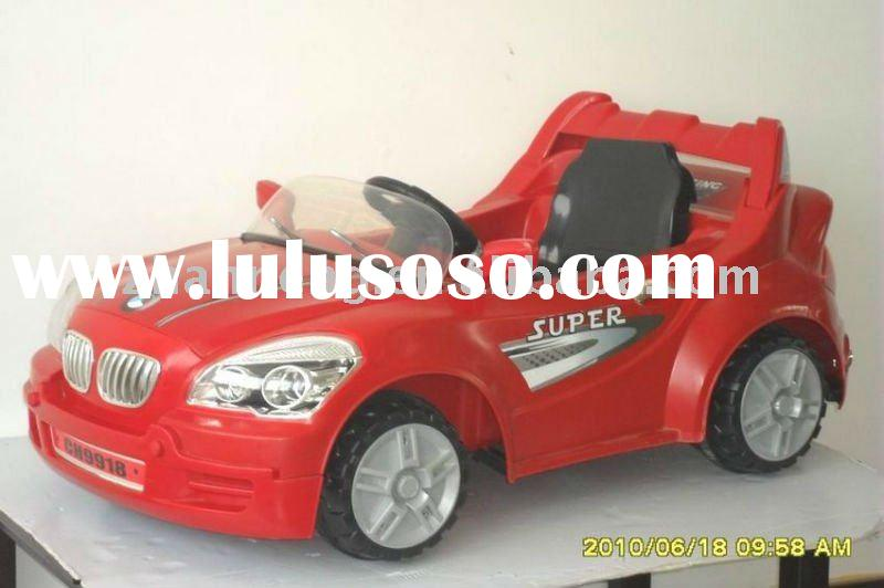 Red Kids Ride On Car 6v Power Remote Control Wheel