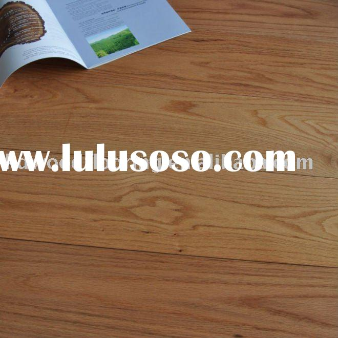 Red oak solid wood flooring