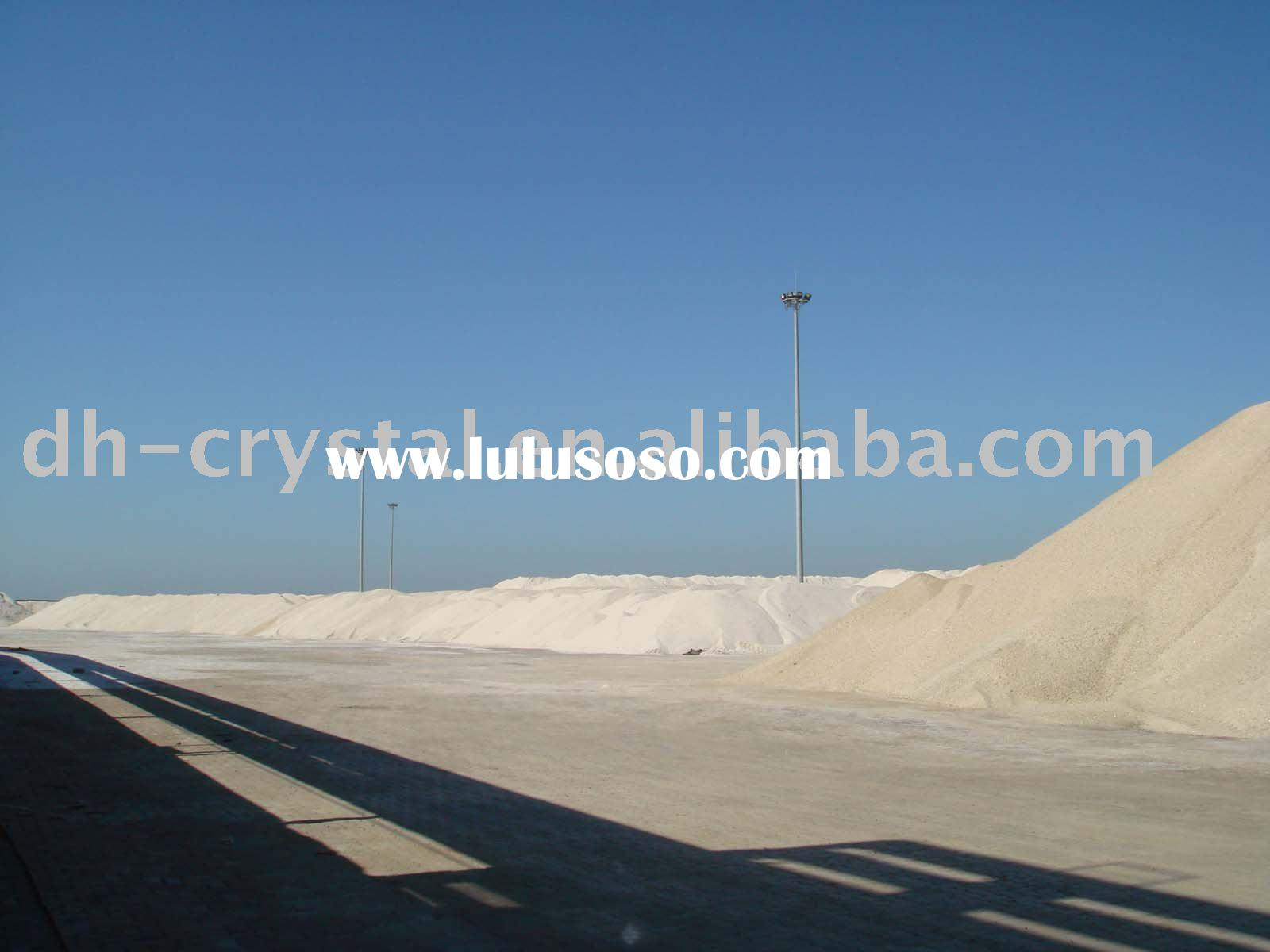 Road salt used for melting snow & deicing