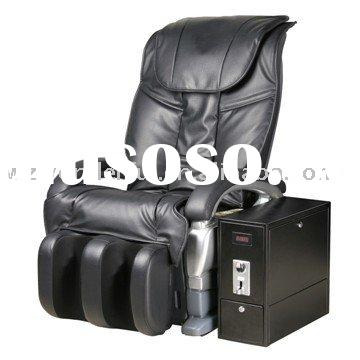 Robotic shiatsu coin operated massage chair WDF-A03TT