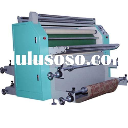 Roller sublimation heat transfer press machine