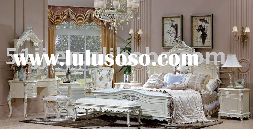 Romantic high quality wooden bedroom furniture bedroom setsTY-CL002