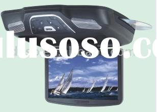 Roof-Mounted TFT-LCD Color Monitor with Built-in DVD Player