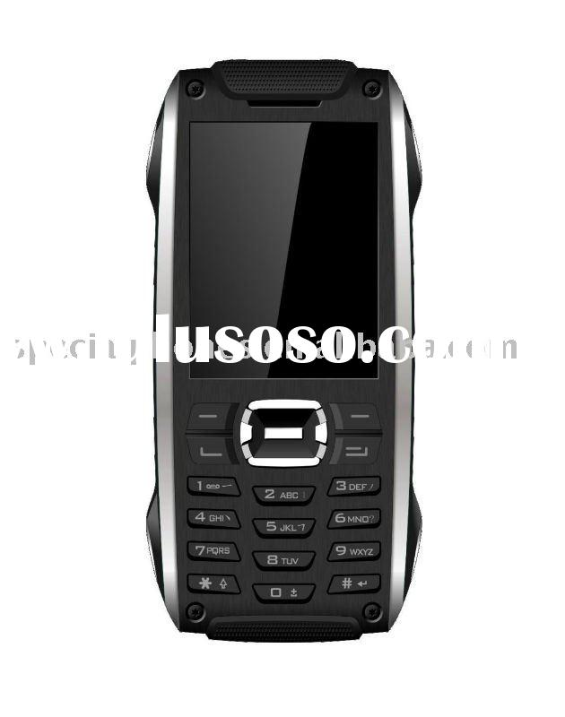 Rugged cell phone LM870 GPS JAVA Waterproof Shockproof Dustproof Bluetooth Dual SIM card