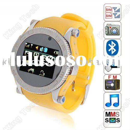 S60 Ladys' Colorful Dual Sim Card Touch Screen Cell Phone Watch