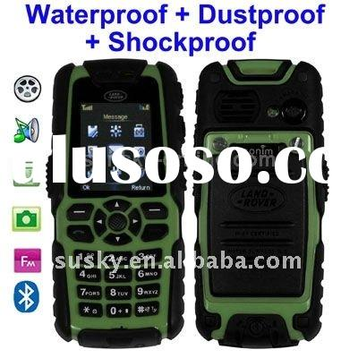 S8, Waterproof + Dustproof + Shockproof Mobile Phone with Flashlight, Bluetooth & FM Function, S