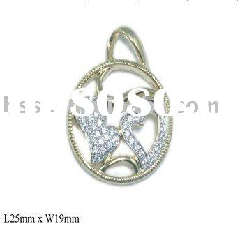 S925 Silver Pendant/Micro setting with AAA CZ