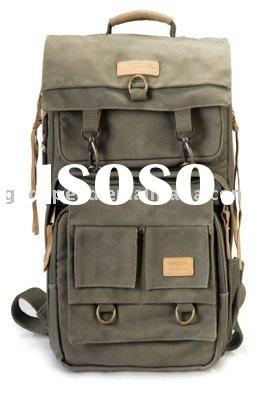 SY621-Canvas Bag Backpack (for camera & laptop computer)