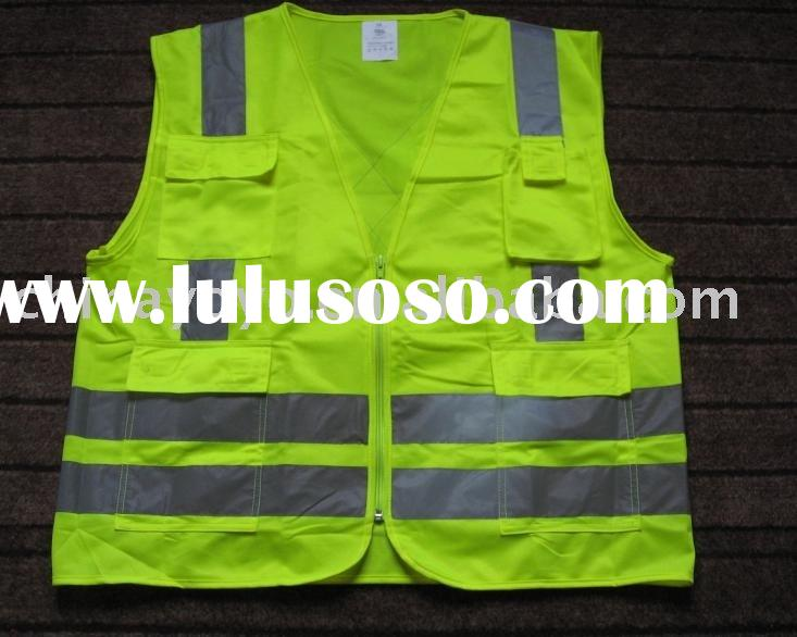 Safety Yellow And Safety Green Safety Vest Uu204 Yellow With