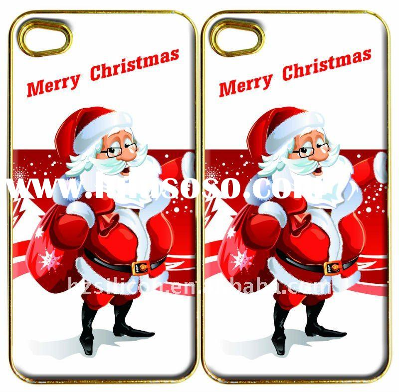 Santa Claus design cell phone case sticker for iphone