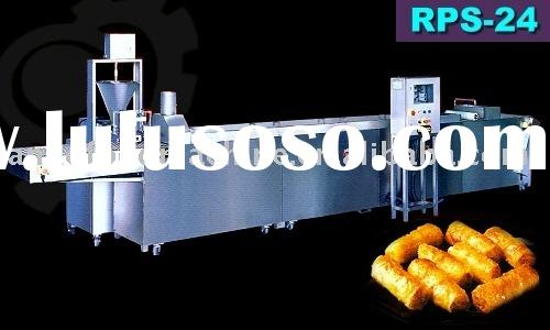 Semi Automatic Vietnamese Rice Paper Spring Roll Machine
