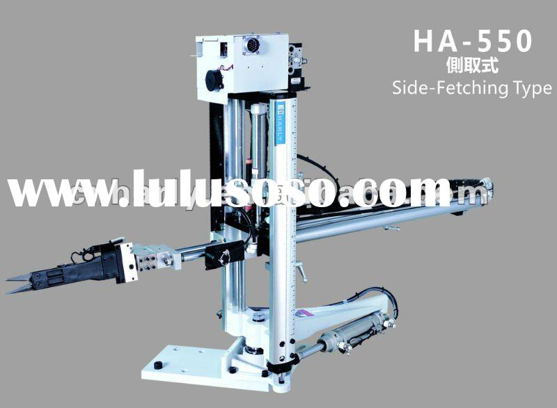 Side-Fetching Type Plastic Injection Molding Machine Robotic Arm