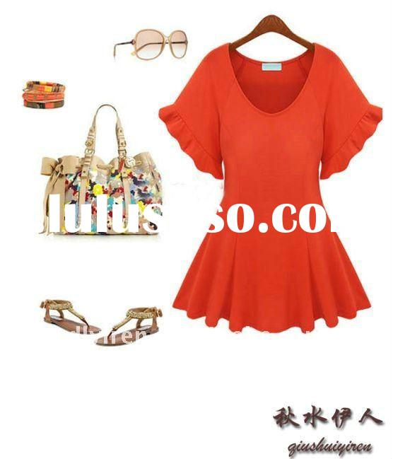 Spring and summer fashion retro dress