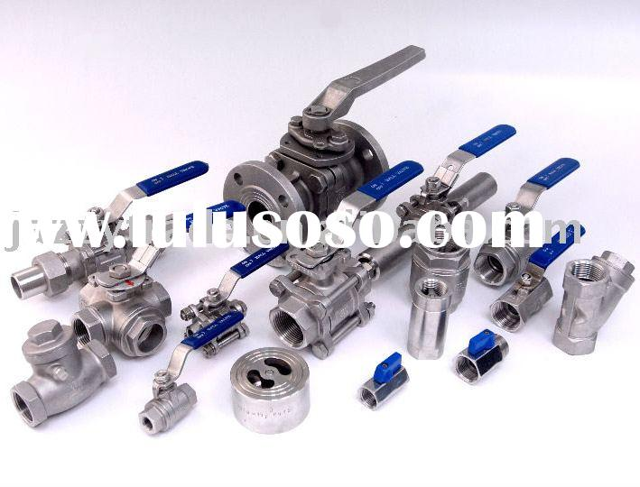 Stainless Steel Ball Valve, 1000WOG, Threaded End