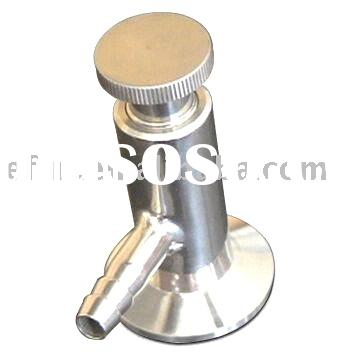 Stainless steel Sanitary Sample Valve,sanitary fittings,Sampling valve