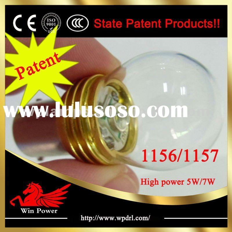 State Patent products!! Newest style high power 7W 1156/1157 12V led car bulb light | Reversing ligh