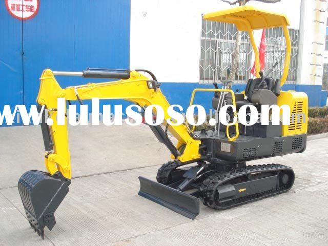 Supply high quality hot selling 1.8 ton mini crawler digger dredge for downtown