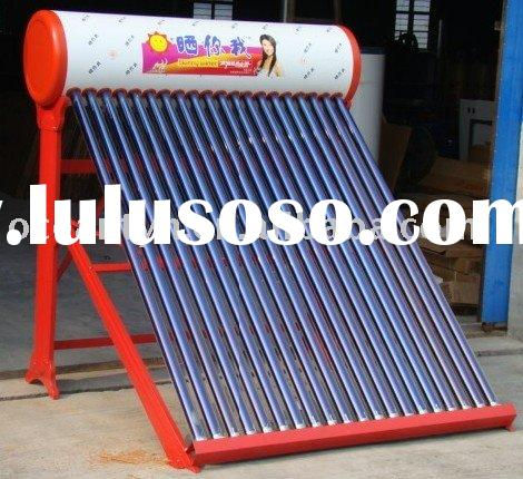 Supplying Sunny Water Solar Water Heater-80 to 300L tank capacity