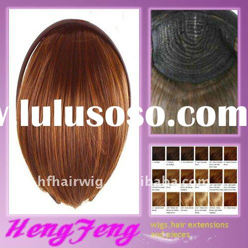 Synthetic fashion hair bangs-hair pieces for ladies
