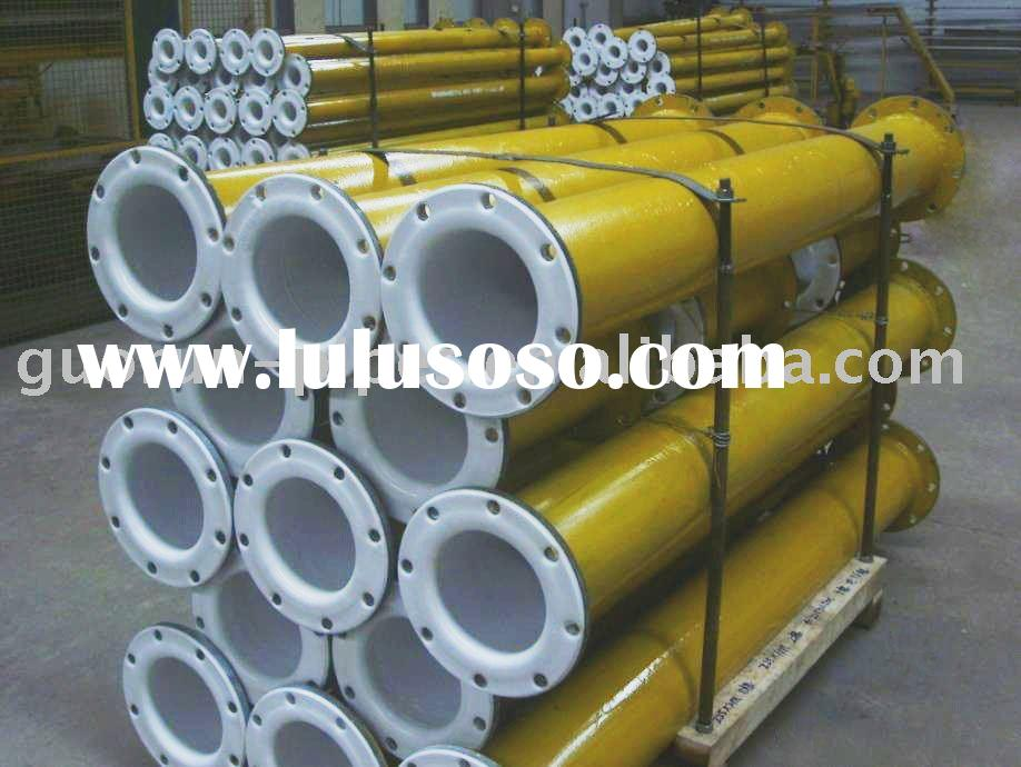 TEFLON LINED PIPES with high temperature resistance