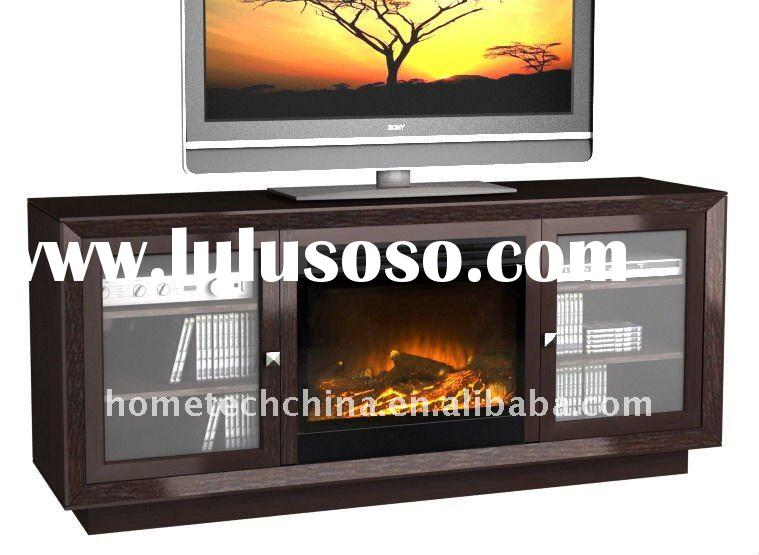 TV stand Electric Fireplace with mantel