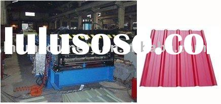 T Shape Corrugated Roof Panel Roll Forming Machine