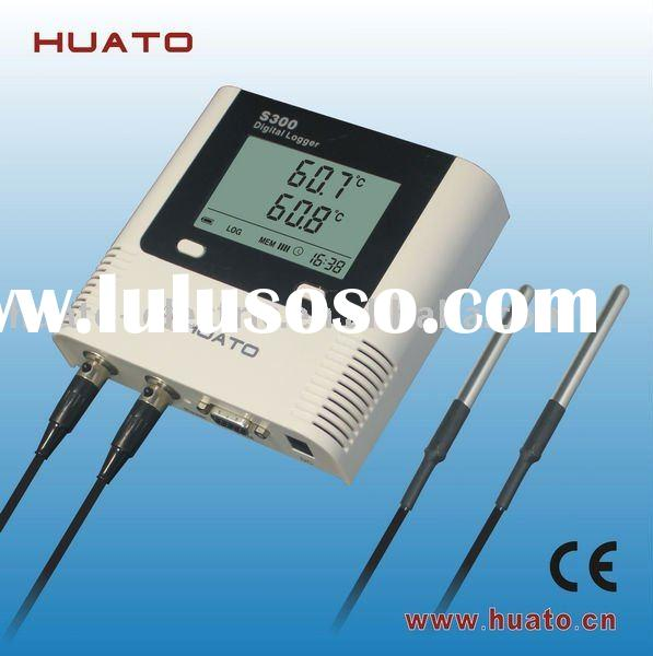 Temperature data logger (Large LCD display with dual external probes)-- S300DT