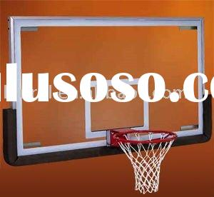 Tempered laminated glass basketball backboard