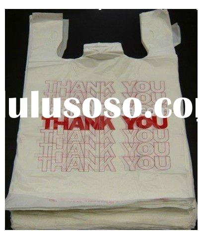 Thank You T-shirt Plastic Bag