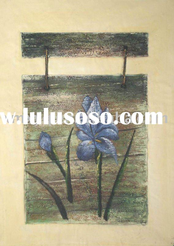 Top Selling Home Art Decoration Oil Painting on Linen Canvas