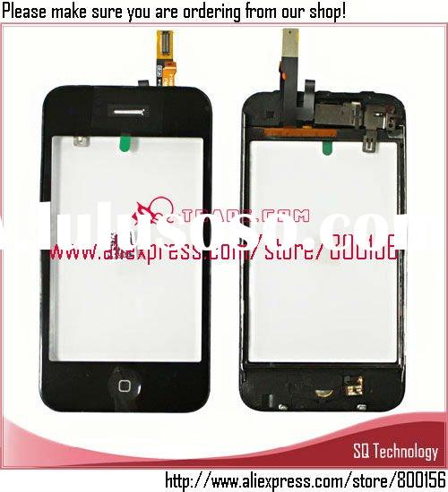 Touch Screen with Middle Frame+Home Button Assembly for iPhone 3G