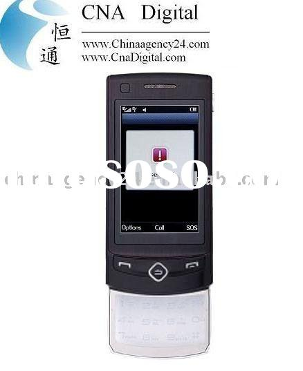 Transparent Keypad Bluetooth Touch Screen Slide Cell Phone