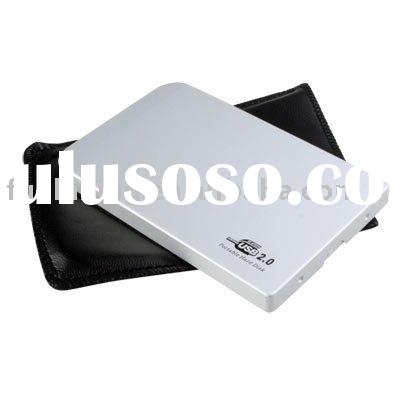 USB2.0 to 2.5'' SATA Aluminum External Hard Disk Drive Case