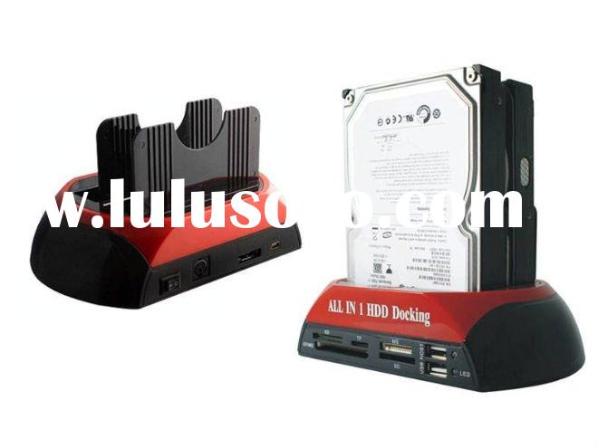 USB3.0 to Dual SATA Clone HDD Docking station