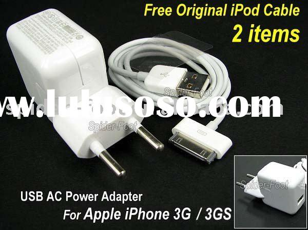 USB Charger Power Adapter for iPhone 3G 3GS Touch Classic