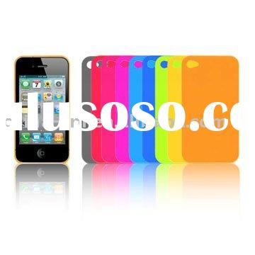 Ultra thin silicone case for iPhone 4G