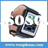 Unlocked Ak08 GSM Watch phone with Bluetooth Camera