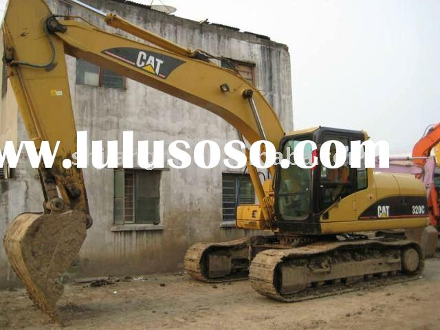 Used Caterpillar 320C excavator , usa orginal cat machine