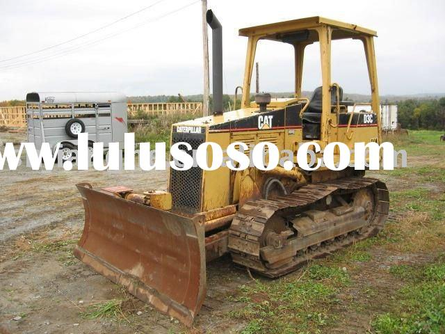 Used Caterpillar D3C bulldozer for sale (cat crawler tractor)