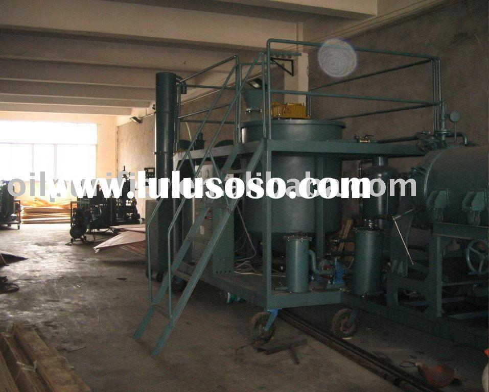Used Engine Motor Oil Recycling System