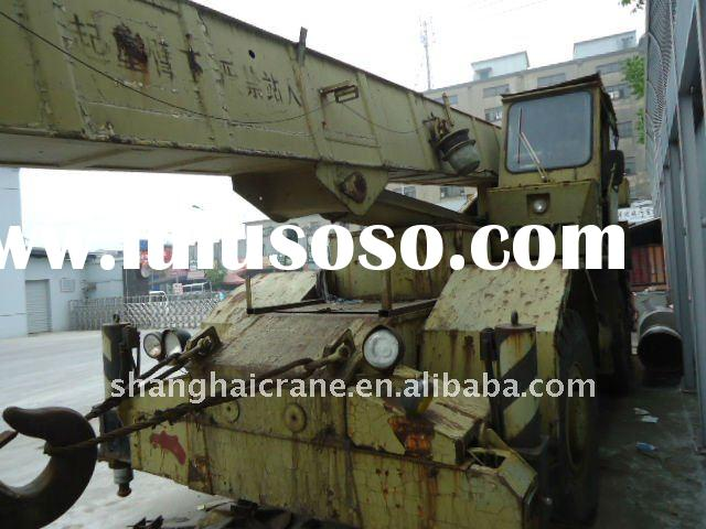 Used Truck Crane 25 ton Rough Terrain Crane in good working condition