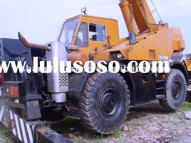 Used Truck Crane TADANO TR350M 35ton in good working condition