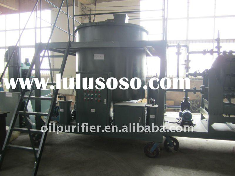 Used black Engine Oil Regeneration Machine/Black Motor Oil Refinery