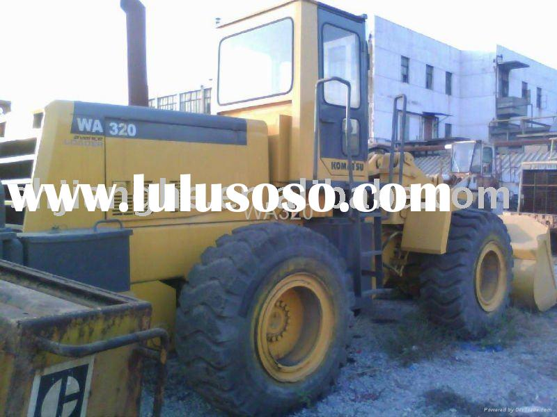 Used komatsu wa 320 wheel loader for sale