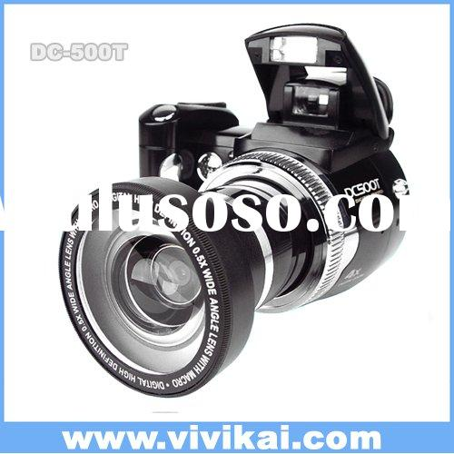 Vivikai 12MP wide angle lens digital camera with 8X digital zoom